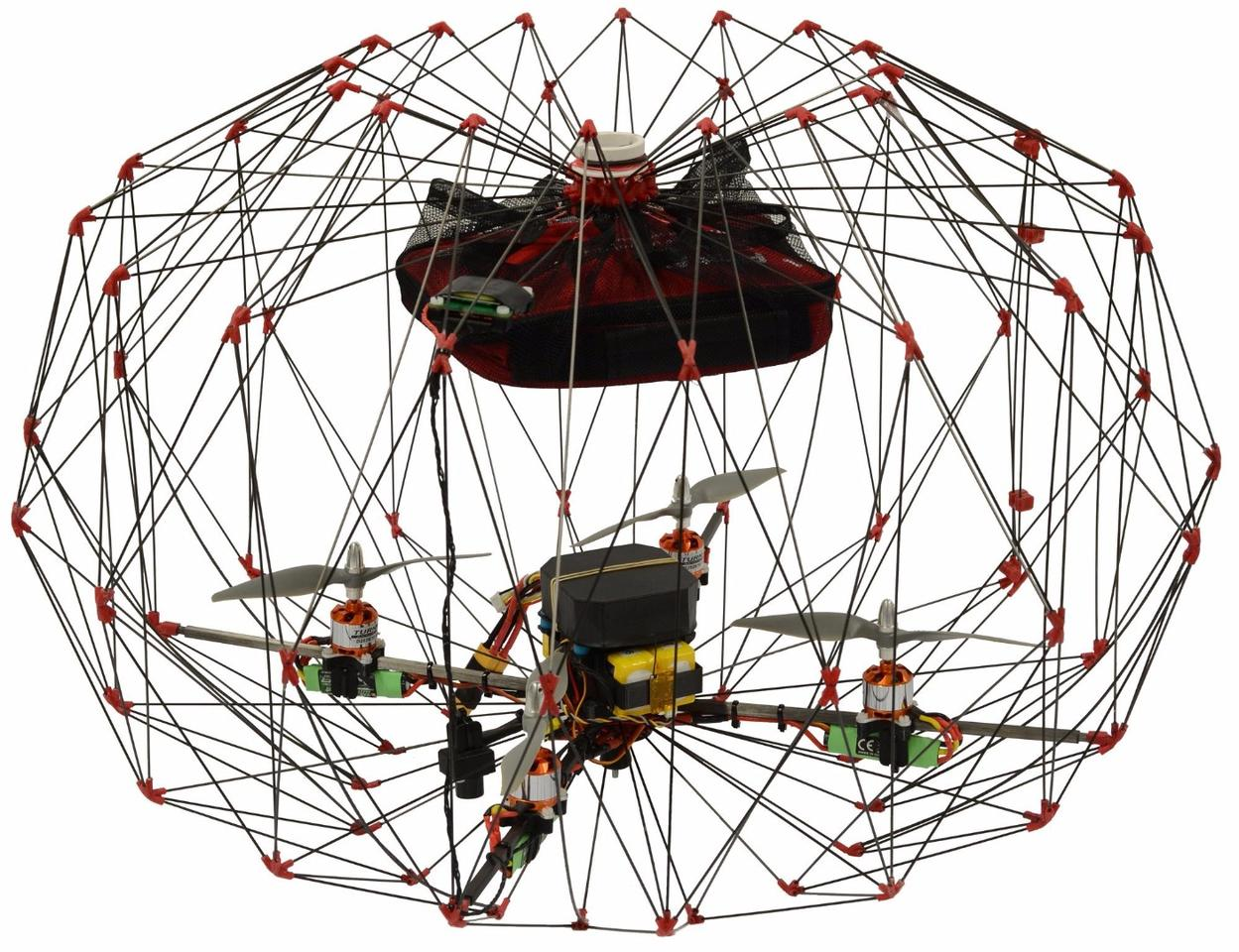 The EPFL drone and it's protective cage