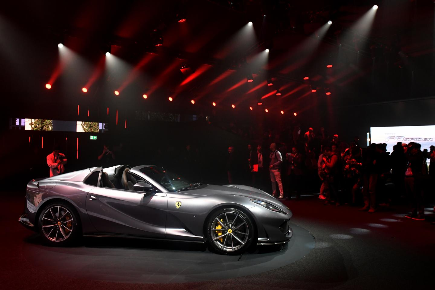 The 812 GTS launch party