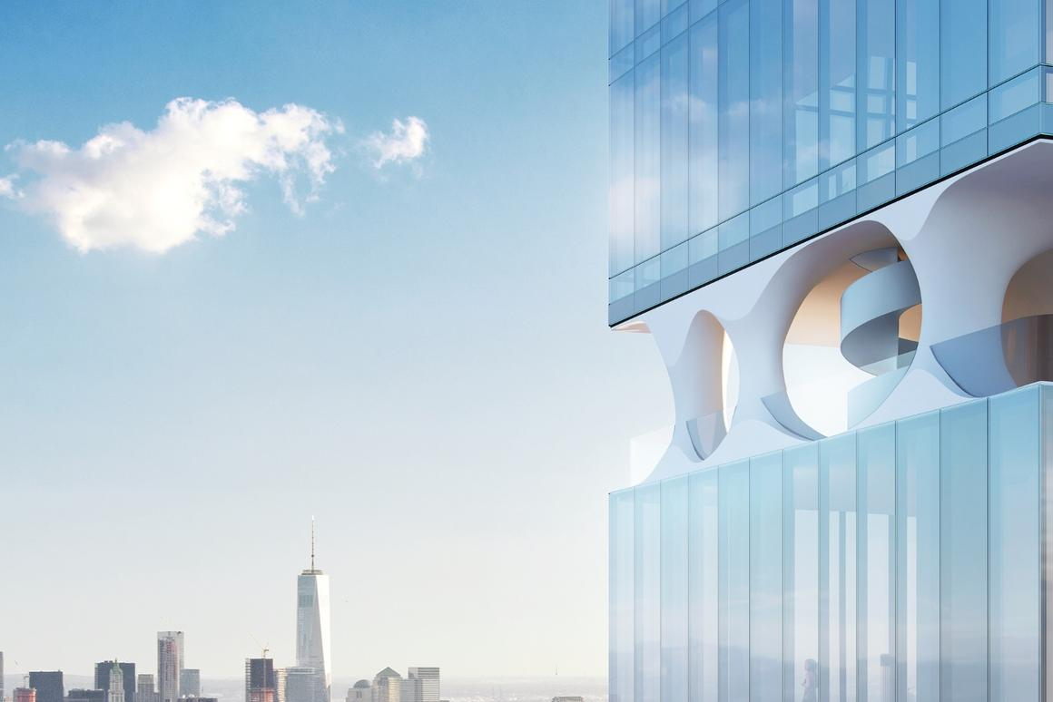 Construction of the East 44th tower is due to begin April or May of next year