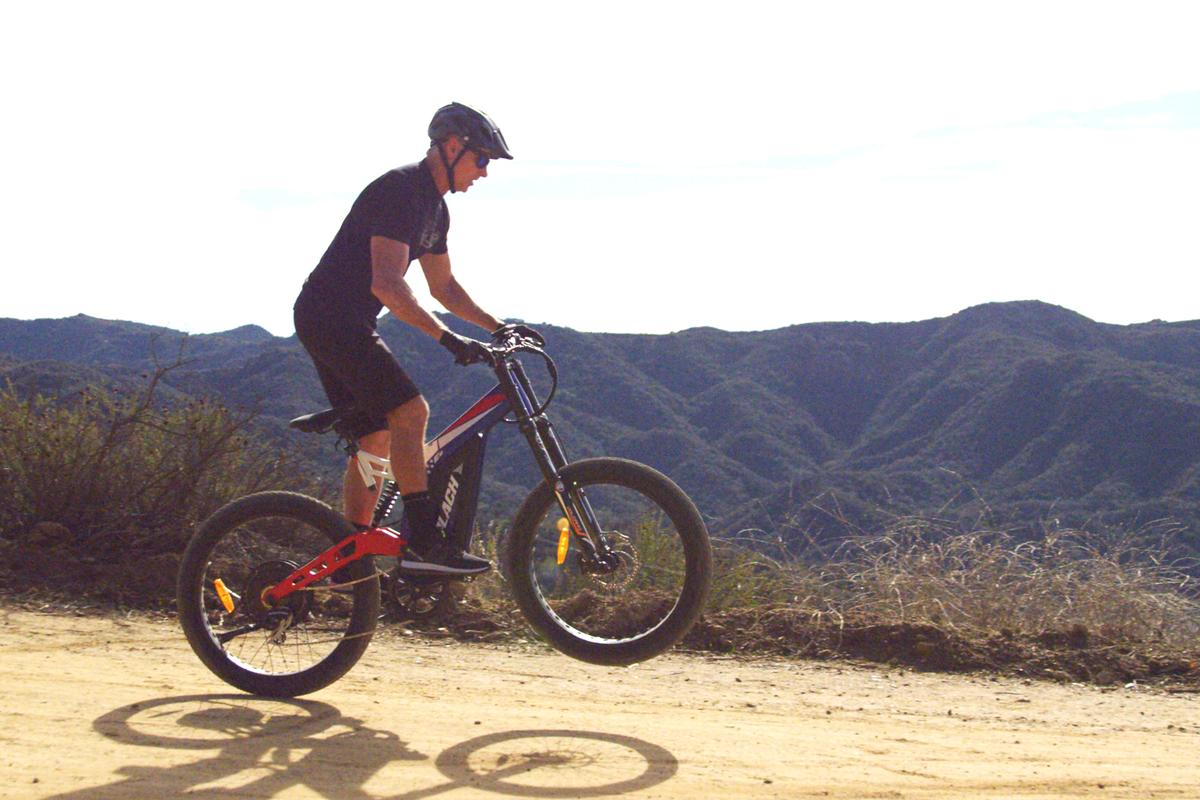 The Patriot Pro is designed for dirt, grass, gravel or city streets
