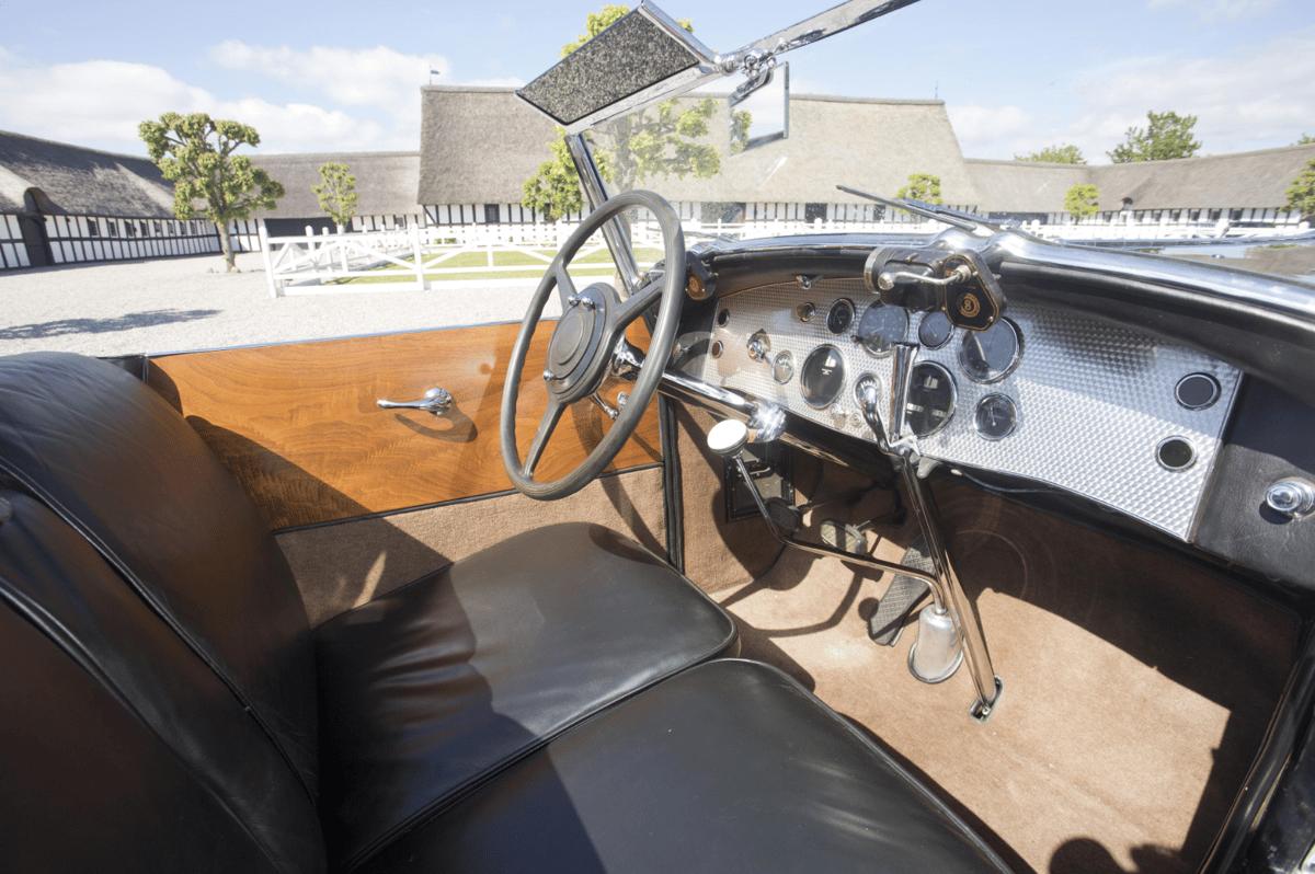 Purchased new by Shirley Carter Burden (Great grandson of C. Cornelius Vanderbilt) this 1930 Duesenberg Model J Disappearing Top Roadster sold for DKK17,825,000 (US$2,674,941) at Bonham's Frederiksen Collection auction on 26 September, 2015