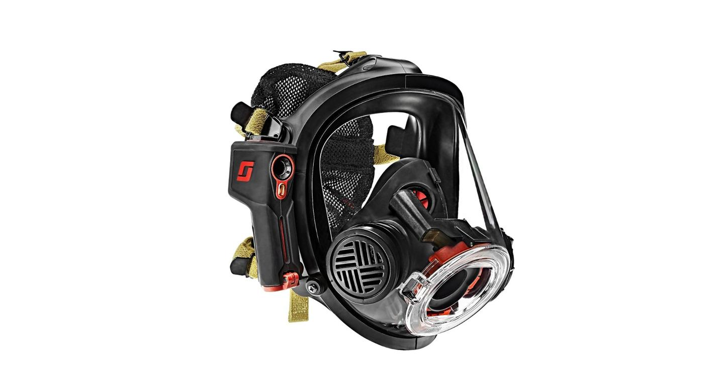Scott Safety calls its Scott Sight the first in-mask thermal imaging system for firefighters