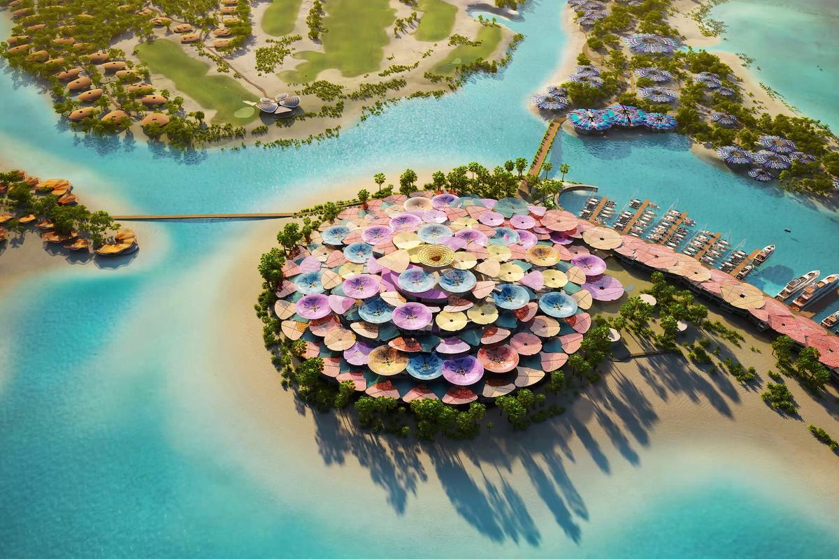According to Foster + Partners, Coral Bloom is designed with a post-COVID-19 world in mind and will feature no corridors, as well as a focus on open air space and ventilation