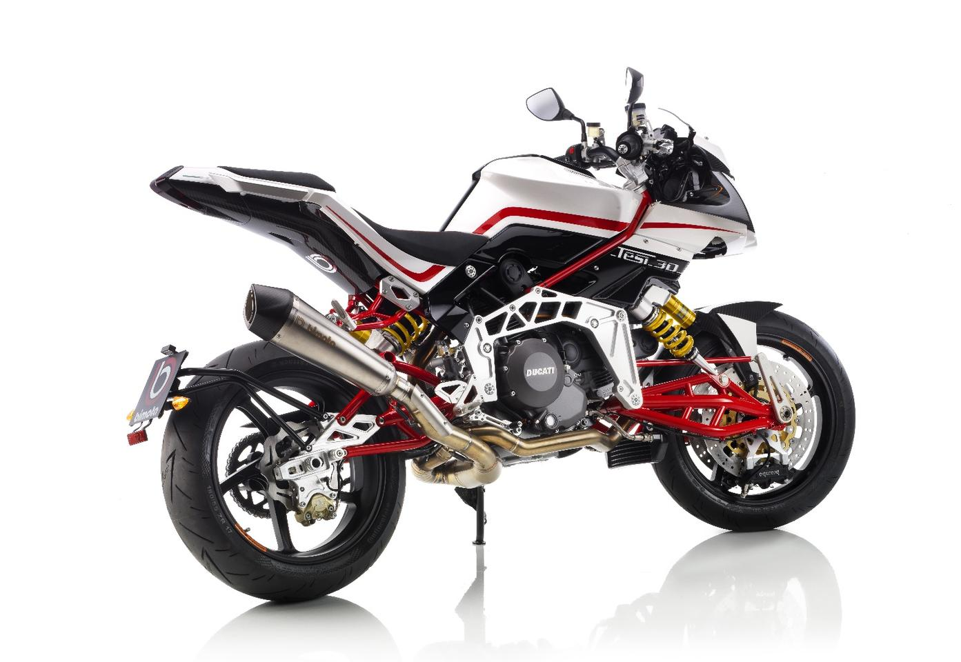 Bimota TESI 3D: hub-steered exotic goodness with a slightly underpowered motor