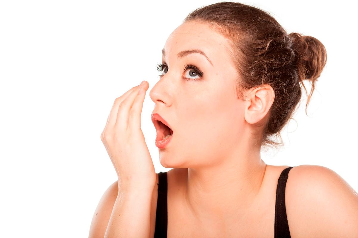 It can be difficult to tell if you've got bad breath, without some outside help