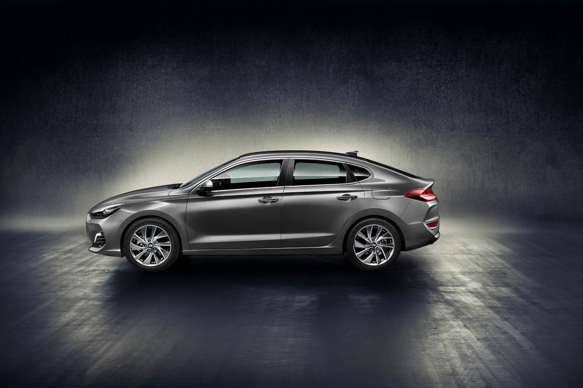 The i30 Fastback is being pitched as a sportier alternative to the regular i30