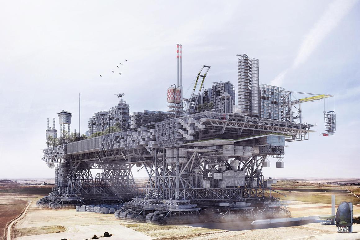 Manuel Dominguez' Very Large Structure (Image CC BY-SA Manuel Dominguez)