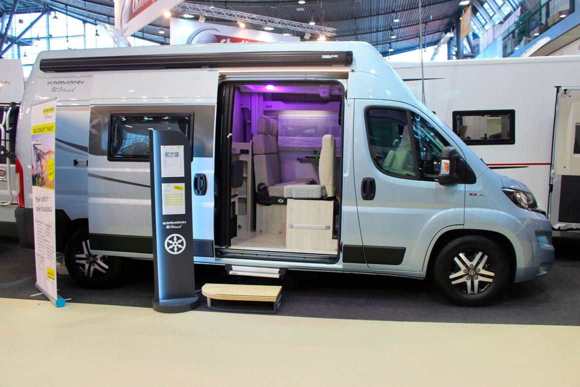 Gallery: CMT 2019's most innovative camper vans for solo