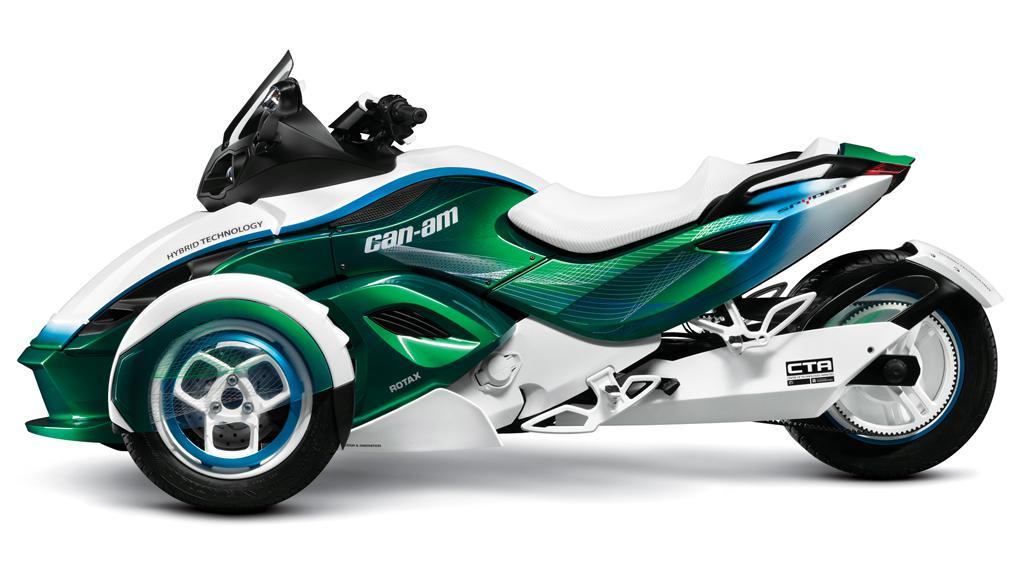 BRP's Can-Am Spyder hybrid concept
