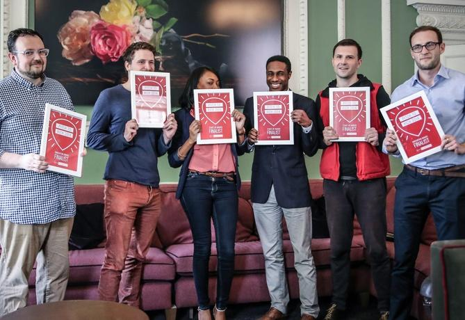Virgin Media has named the six finalists of its Pitch to Rich entrepreneurship competition