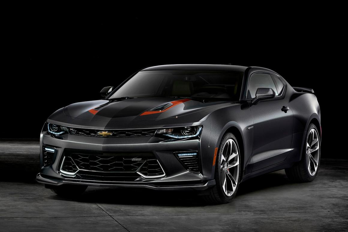 The Camaro 50thAnniversary gets unique styling and a tweaked interior