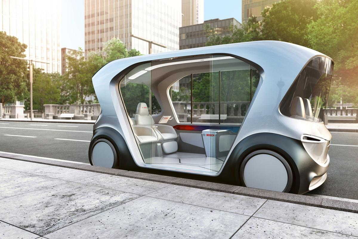 Bosch is planning to play a major role in the connected autonomous transport services of tomorrow
