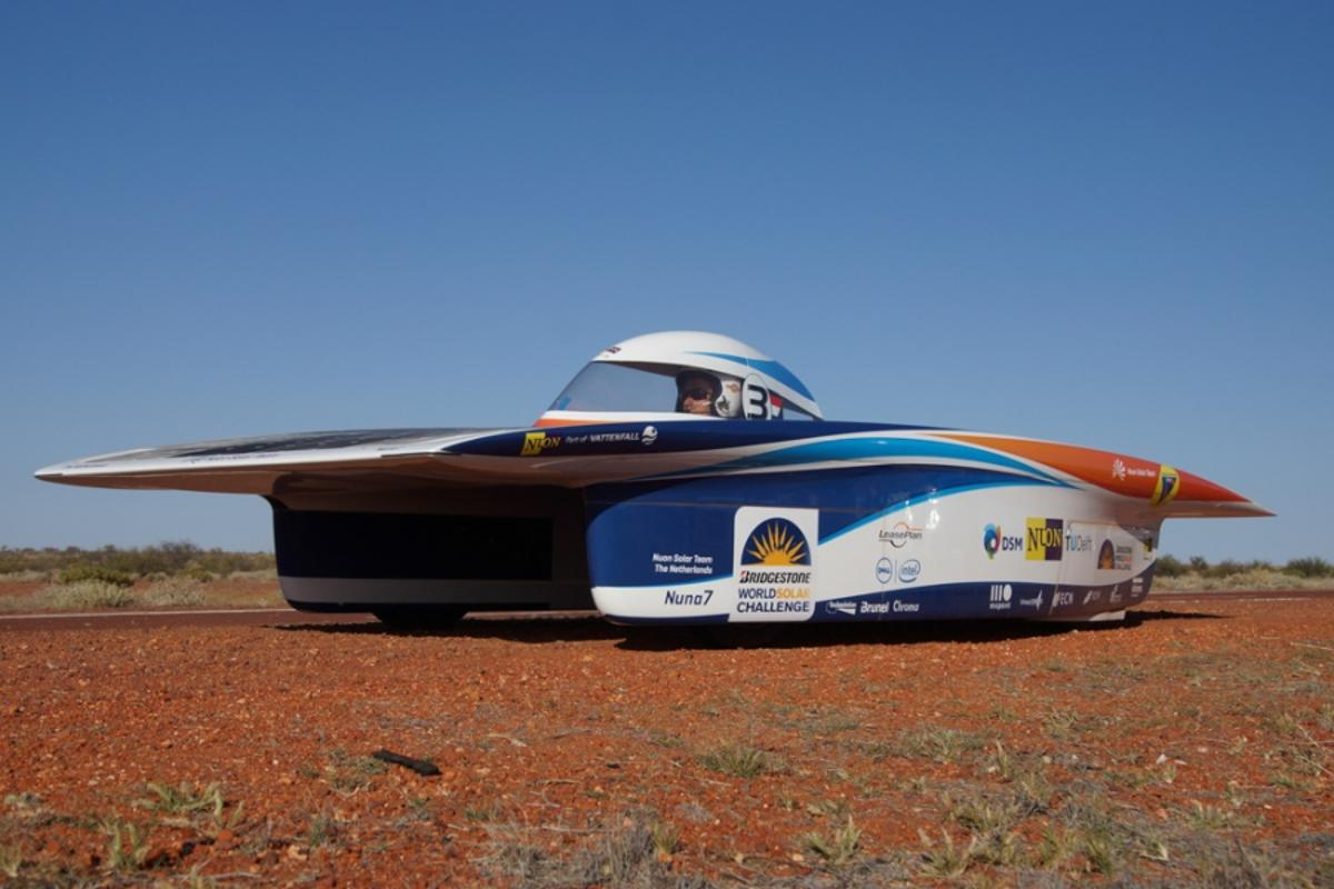 Nuon Team preparing for business time (Photo: World Solar Challenge)
