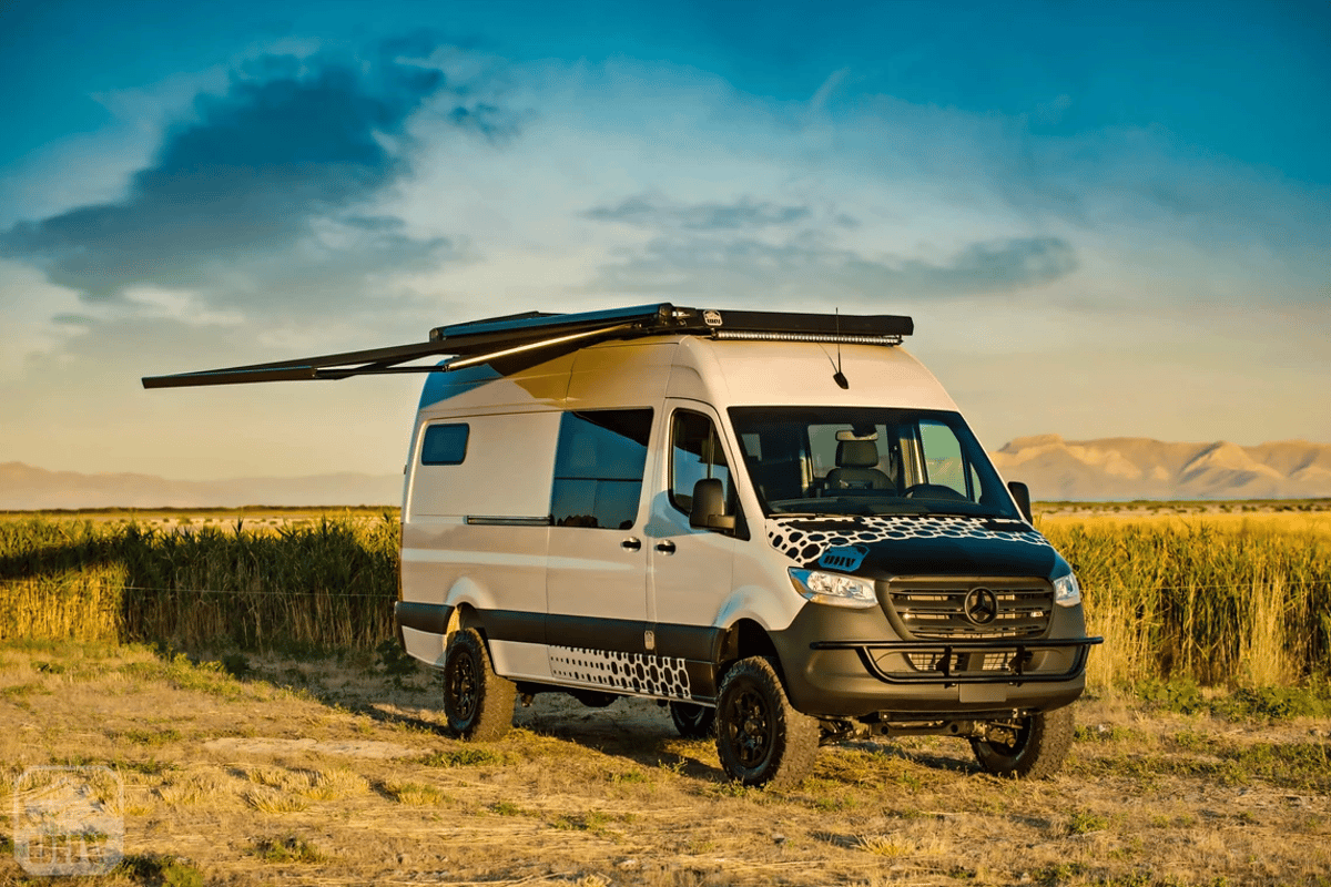 OHV turns Sprinter 144 and 170 4x4s into the Doc Holiday off-grid camper van