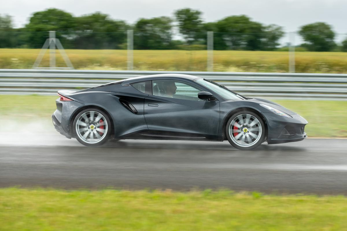 Jenson Button puts the Lotus Emira to the test