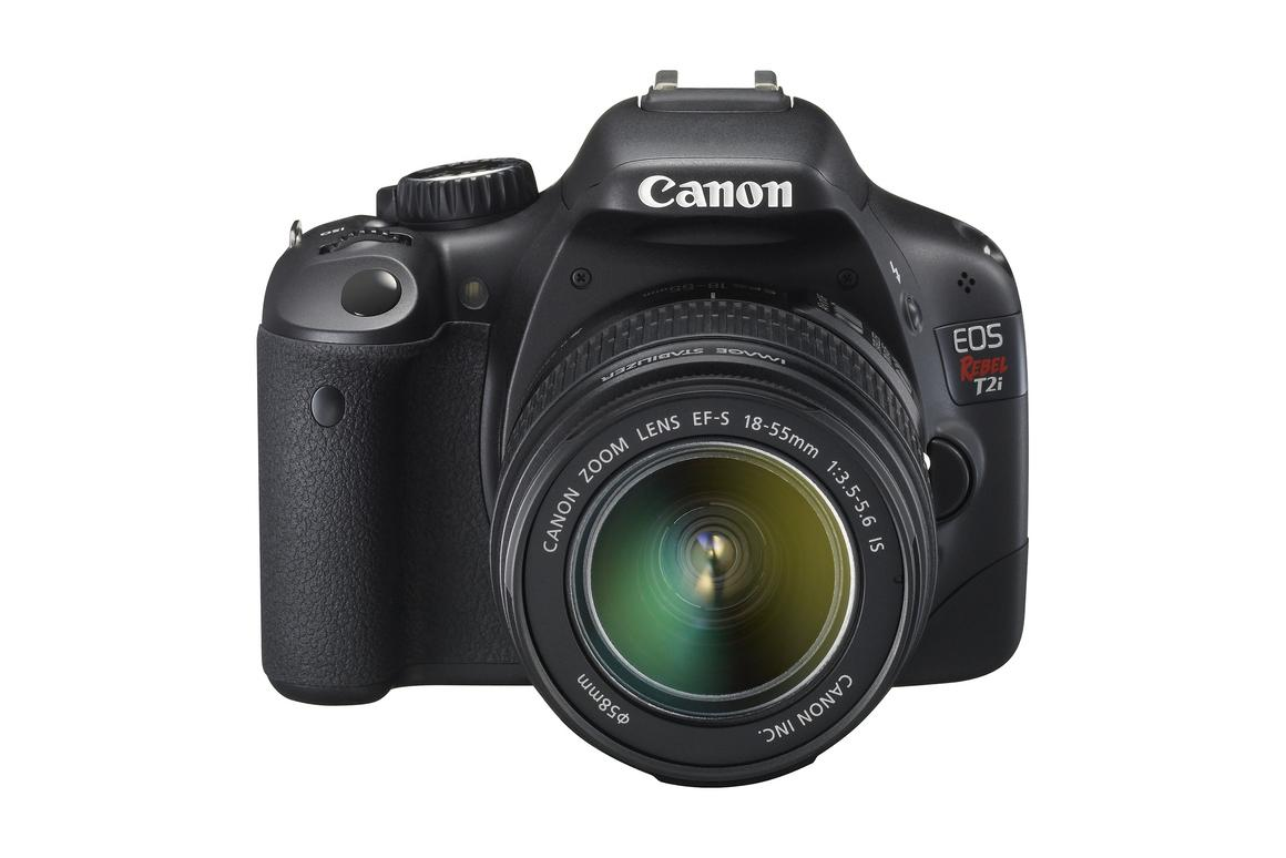 EOS Rebel T2i Digital SLR camera with 18 megapixel CMOS sensor and many professional level features