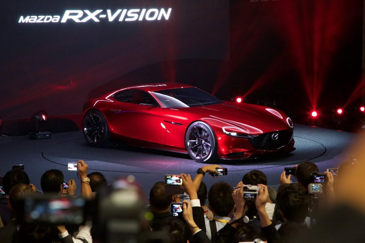 Mazda reveals the new RX-VISION at the 2015 Tokyo Motor Show