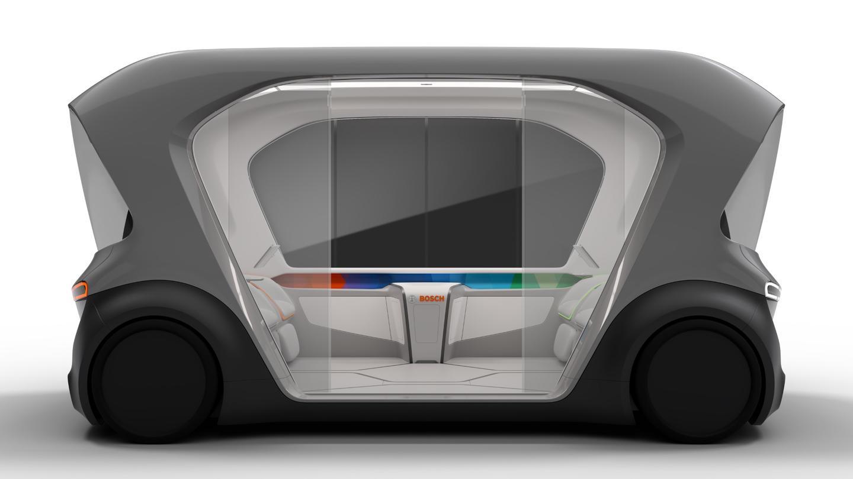 Bosch's autonomous shuttle concept: preparing to debut at CES