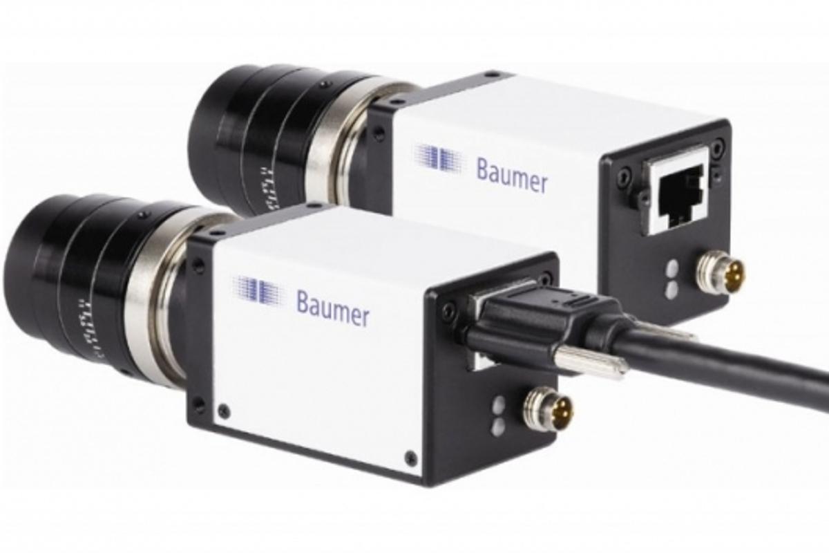 Baumer's GigE cameras