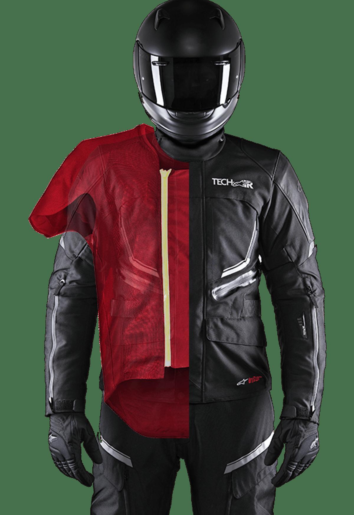Alpinestars Tech-Air street airbag system will equip a new line of BMW Motorrad jackets