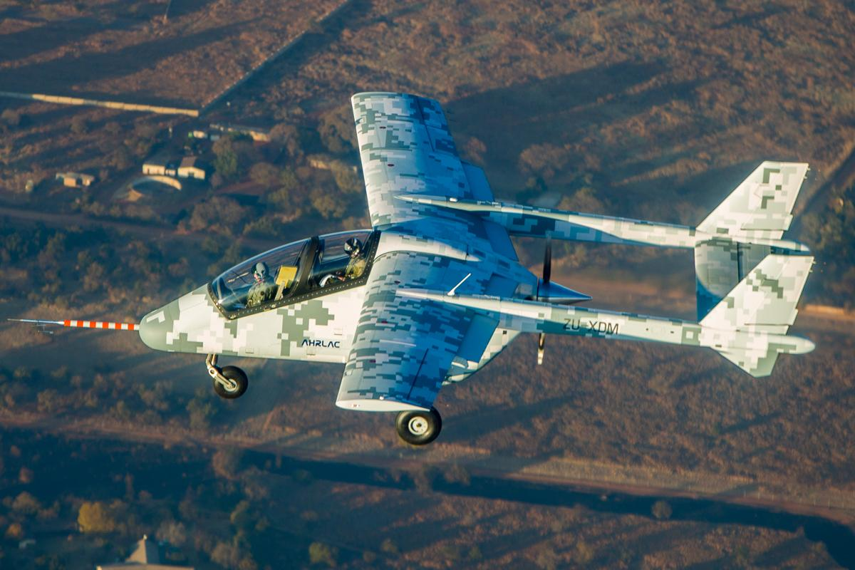 AHRLAC is being touted as Africa's first home-grown military aircraft