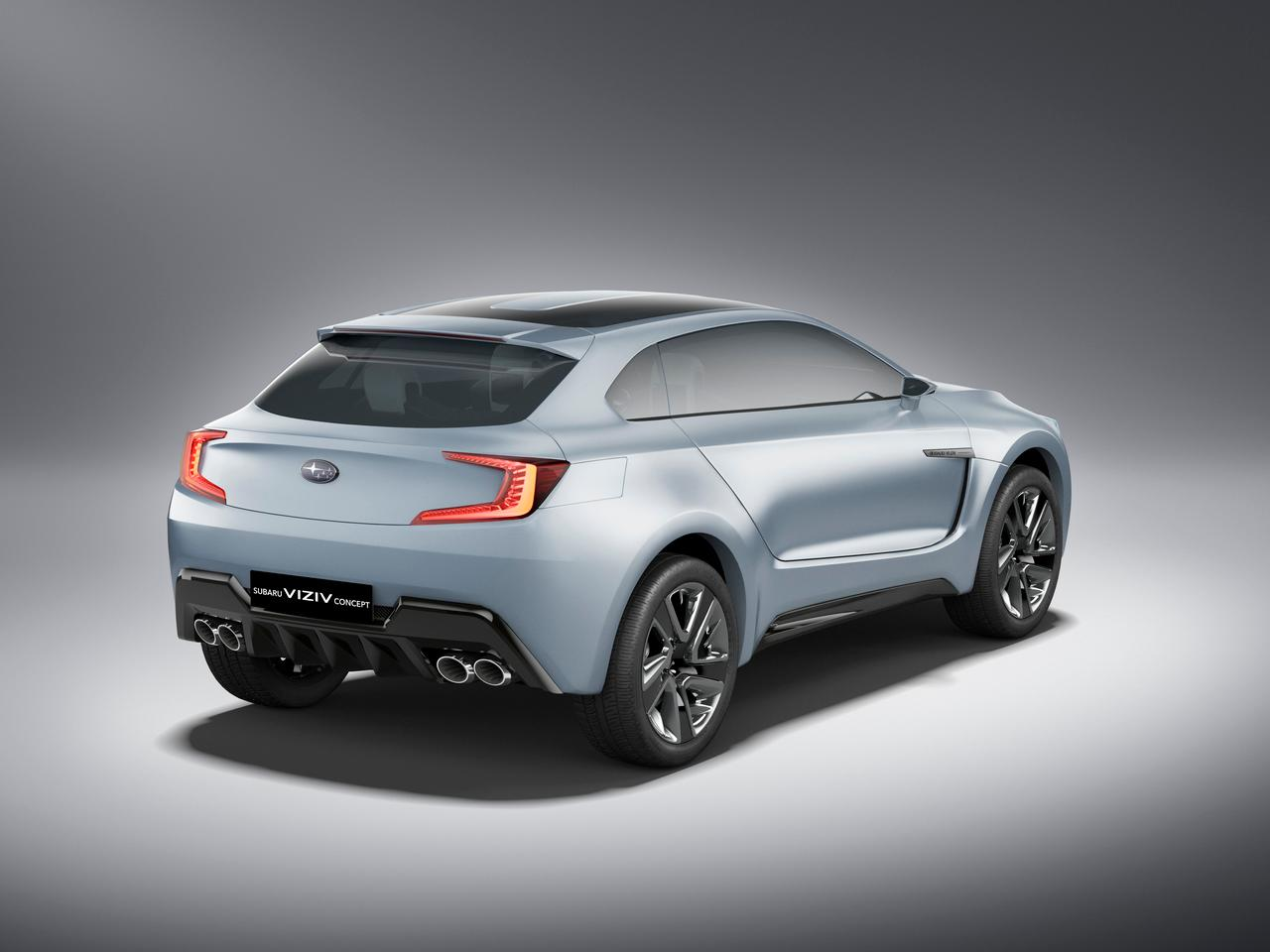 Subaru Viziv Concept exterior rear