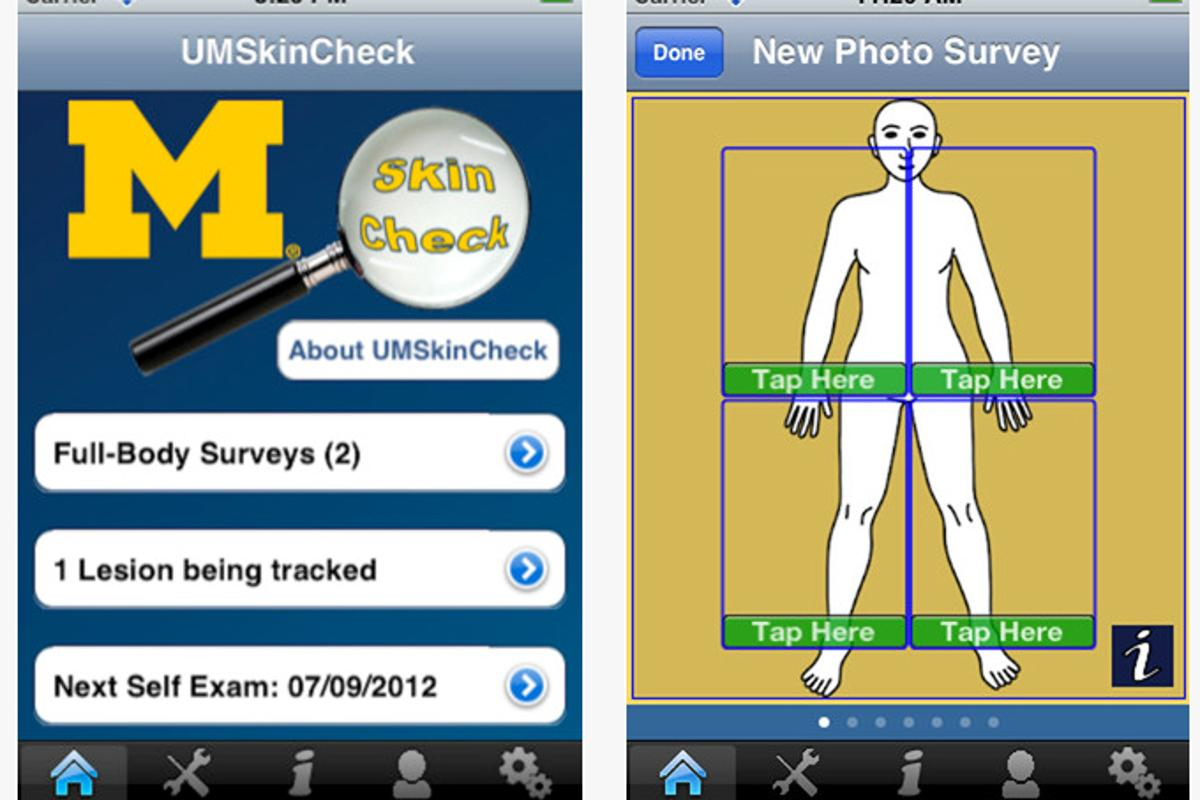 UMSkinCheck is available on iTunes for free