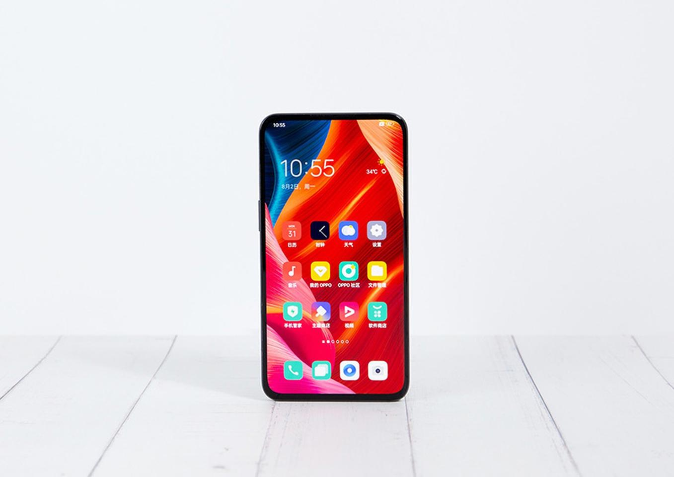 """Oppo says that it's managed to place the camera under the display of its latest prototype in such as way that it """"maintains the integrity and consistency of the entire screen"""""""