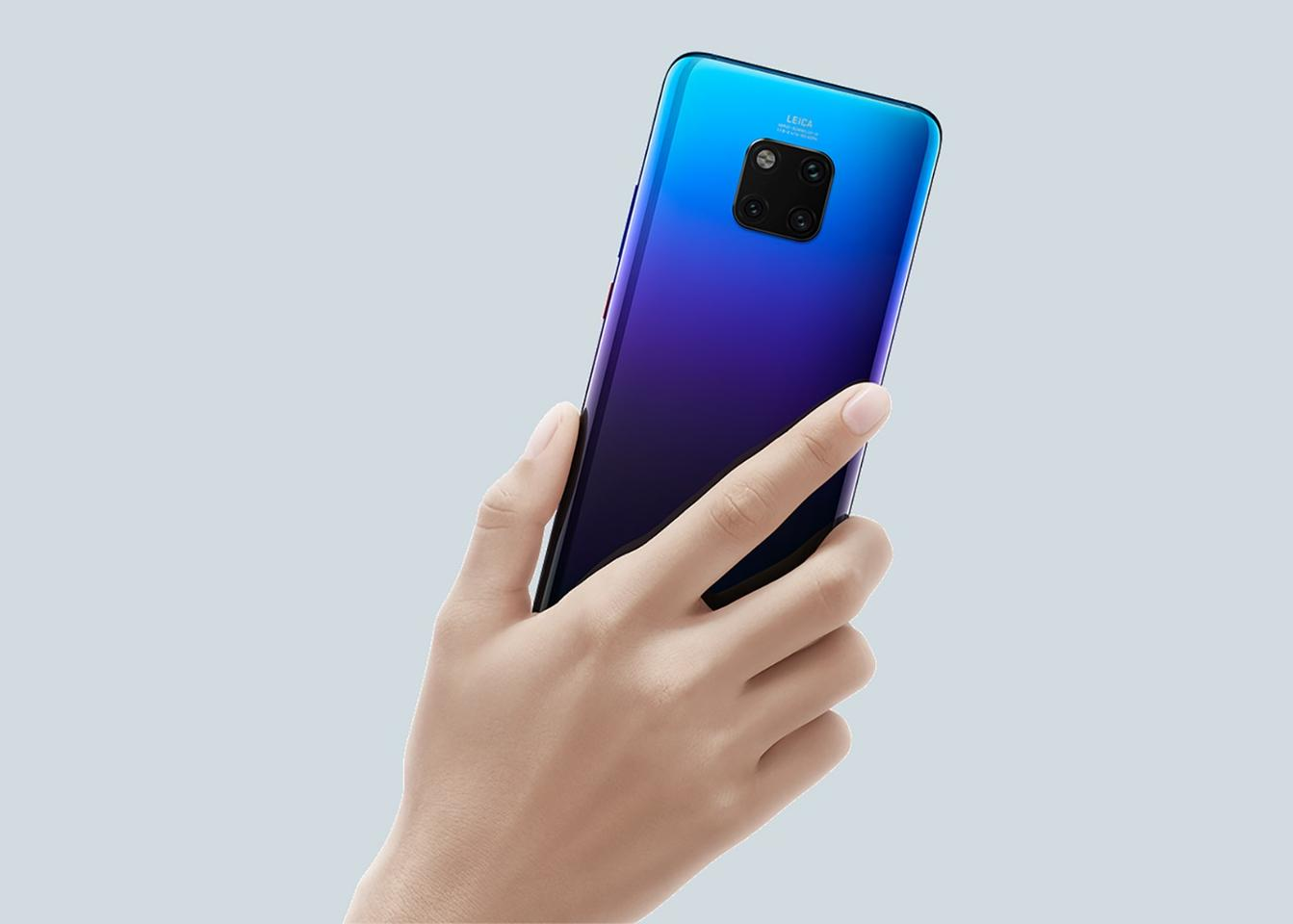Huawei throws everything at its Huawei Mate 20 and Mate 20