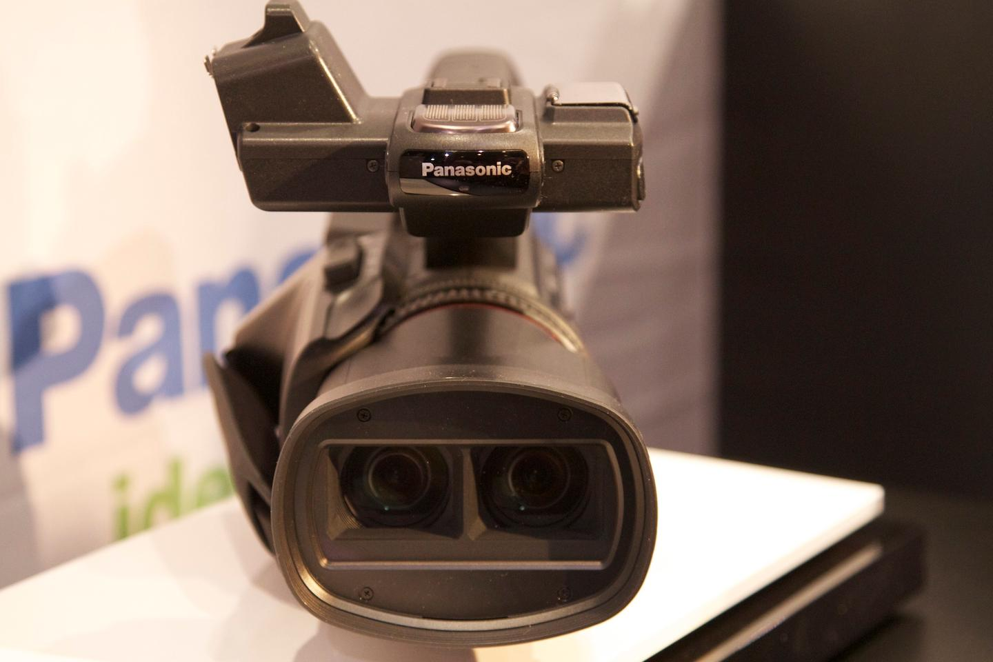 New Panasonic HDC-Z10000 Camcorder Shoots Exceptional Full