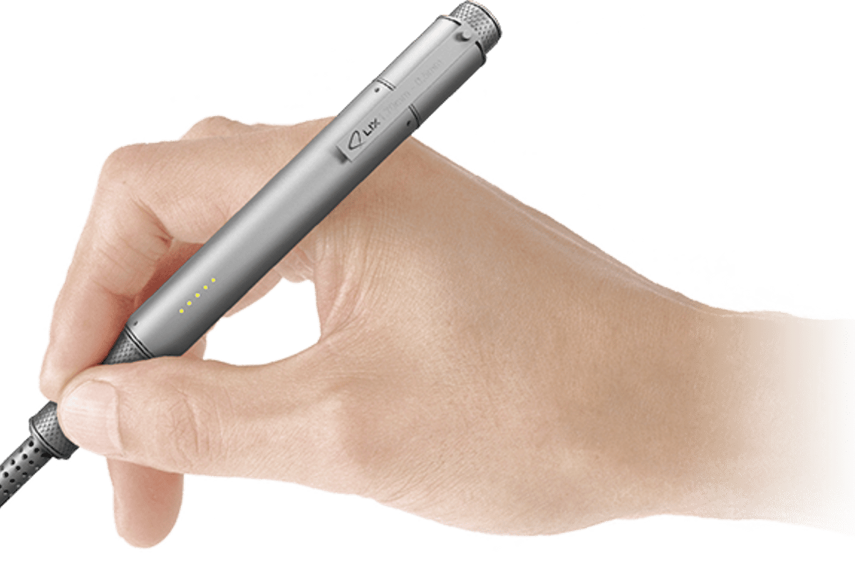The Lix 3D printing pen is claimed the smallest in the world