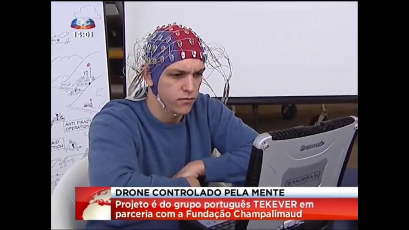 Researchers working on the Brainflight project have successfully demonstrated mind-controlled drone flight