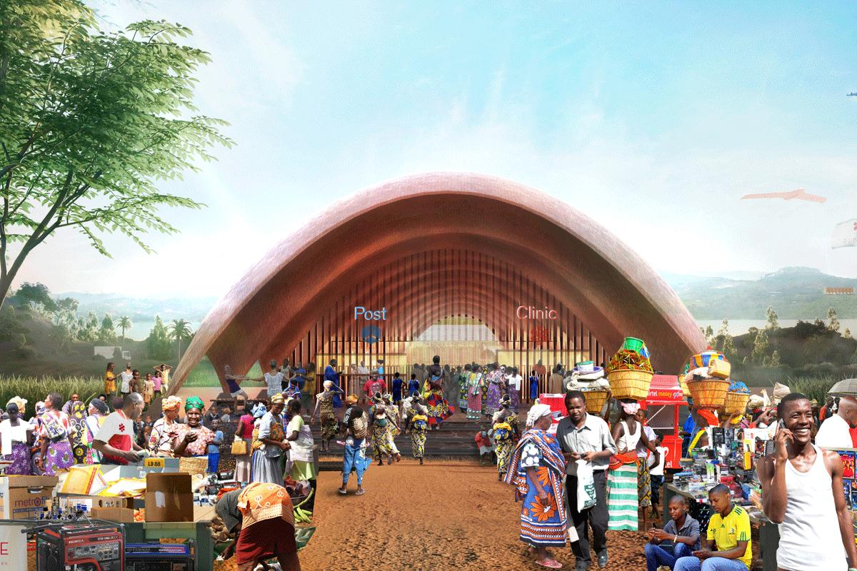 The Droneport is slated to begin as a pilot project in 2016