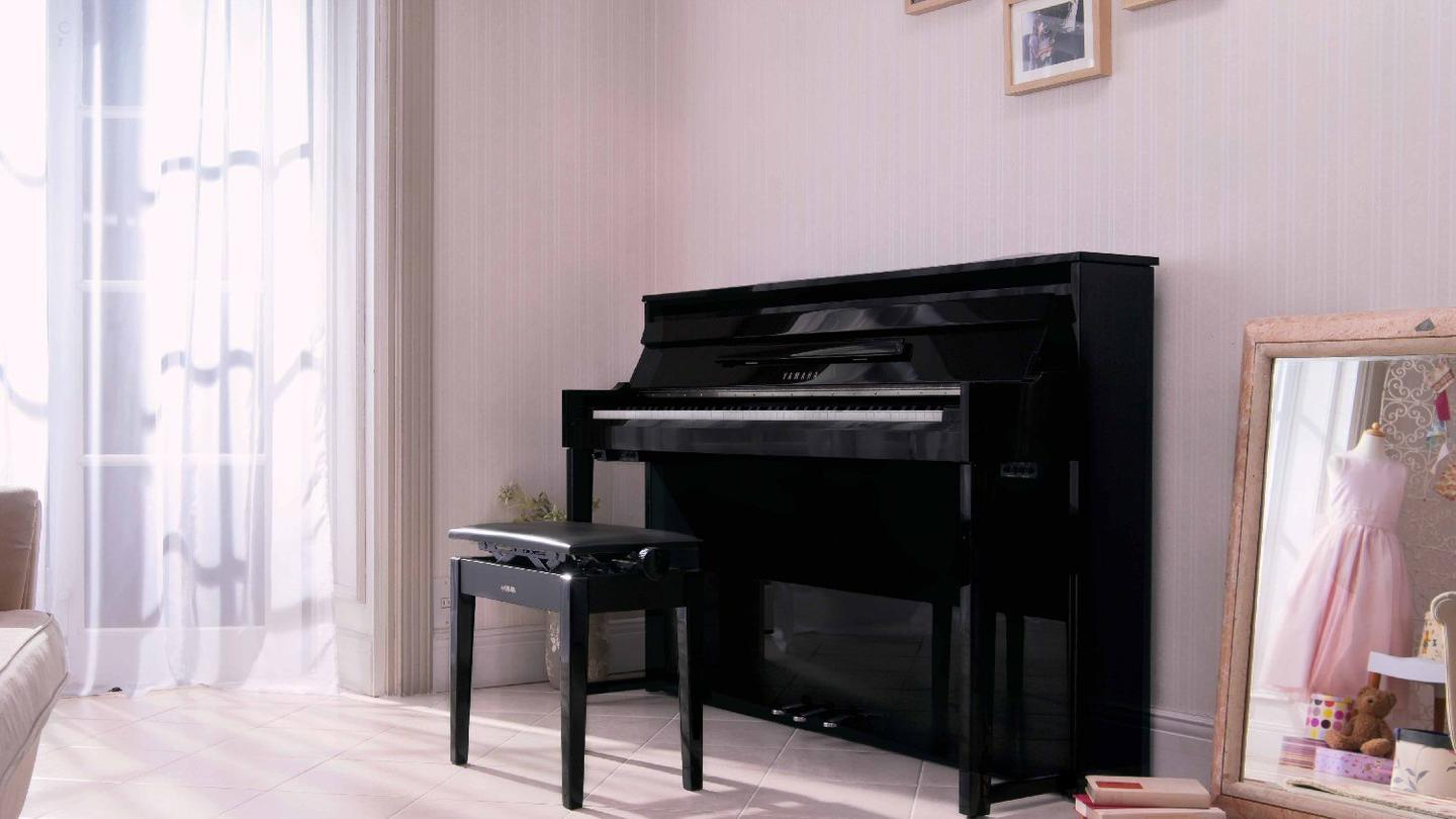 The Yamaha NU1 is an acoustic upright with the digital heart of a grand