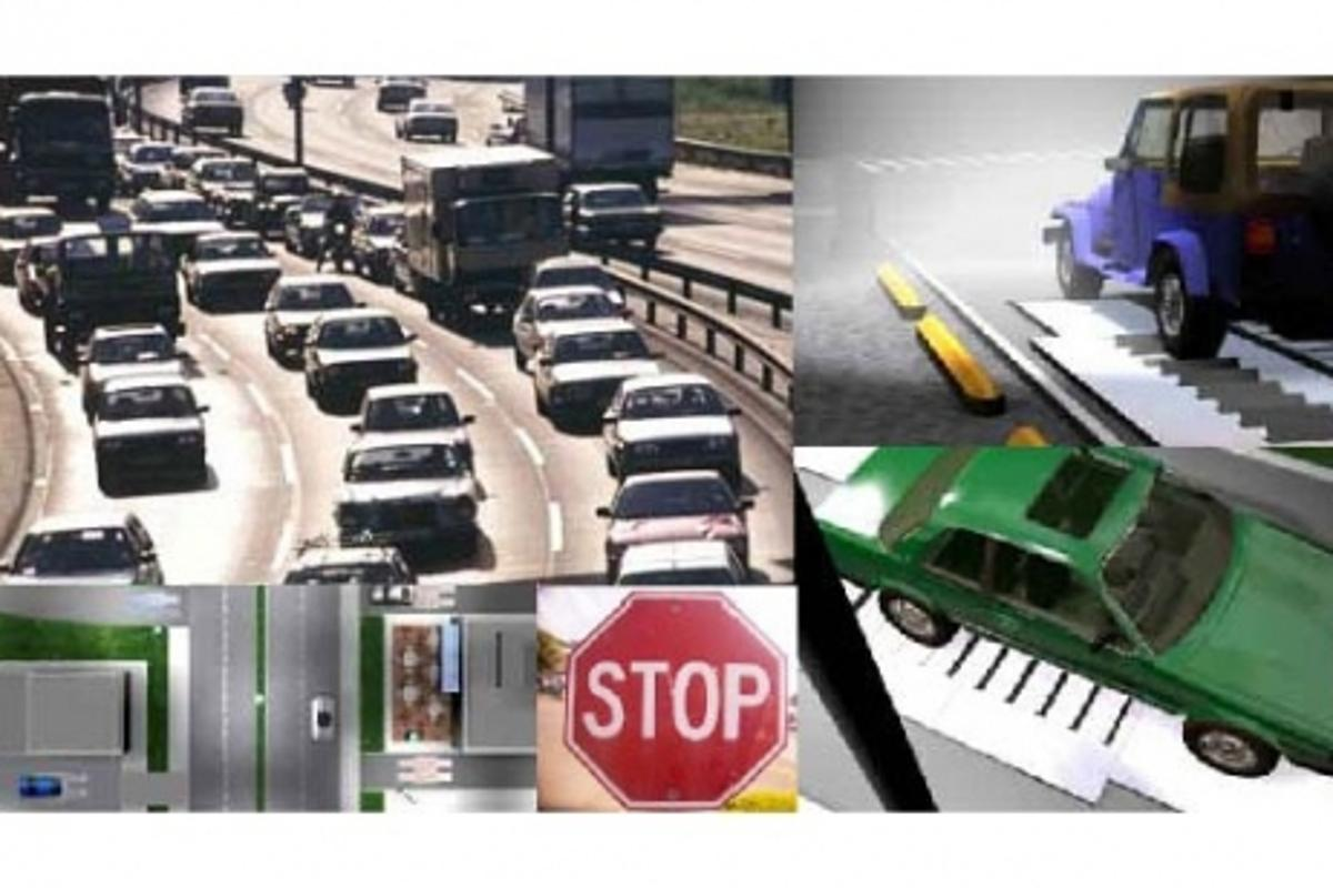Generating electricity from vehicles driving over small plates, MotionPower can be put to use anywhere that traffic flows