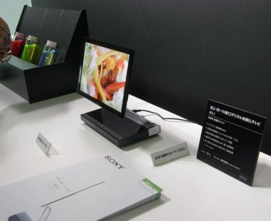Sony's XEL-1 OLED screen