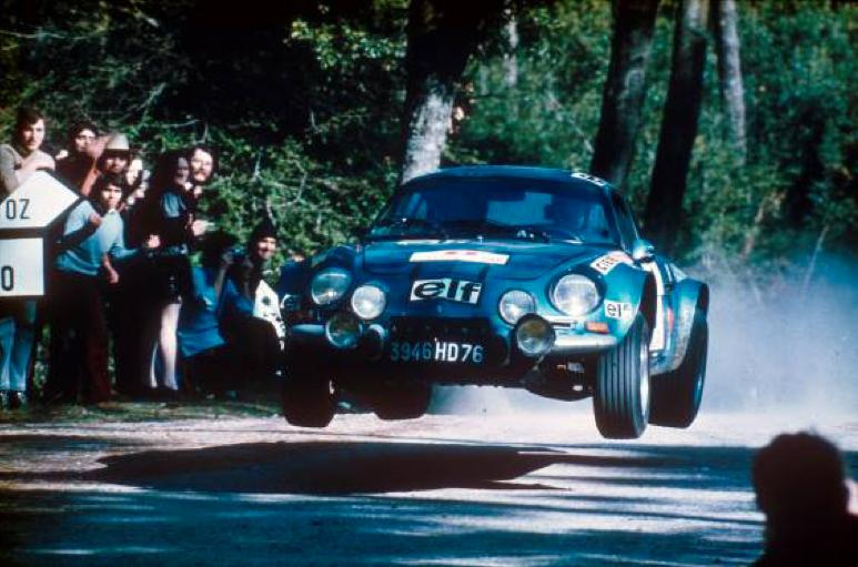 The original Alpine A110 was one sweet handling automobile - as soon as it was homologated, it began winning all over the world