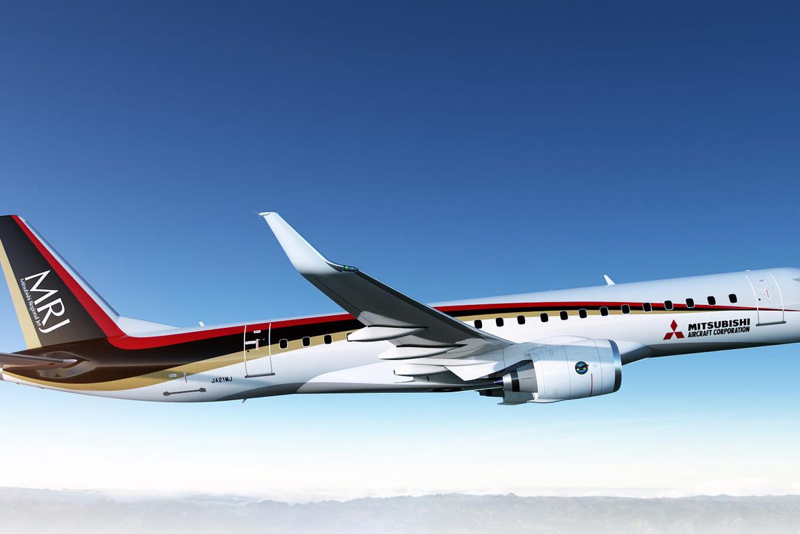 The MRJ90 has made a successful maiden flight – production delivery is scheduled to take place in Q2 2017