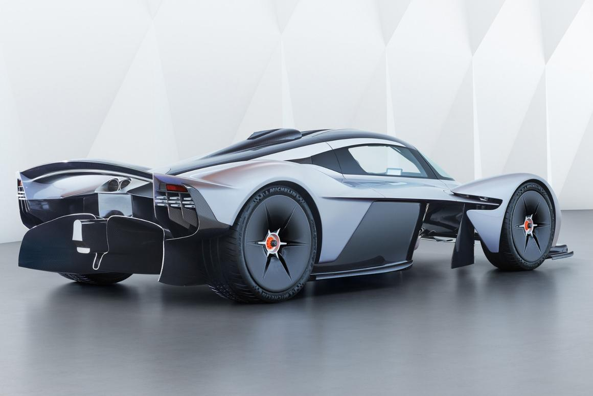 The Aston Martin Valkyrie willbe road legal