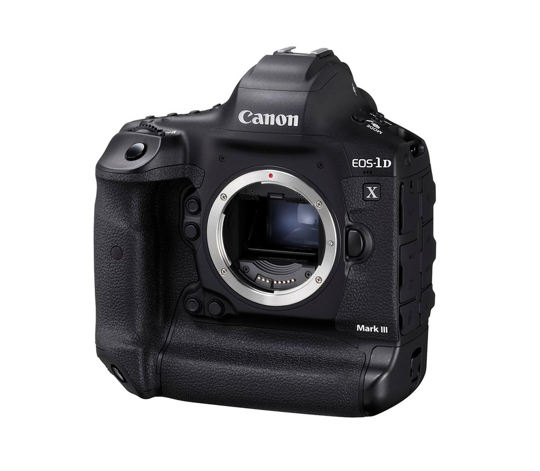 The EOS-1D Mark III features a new 20.1-megapixel CMOS sensor