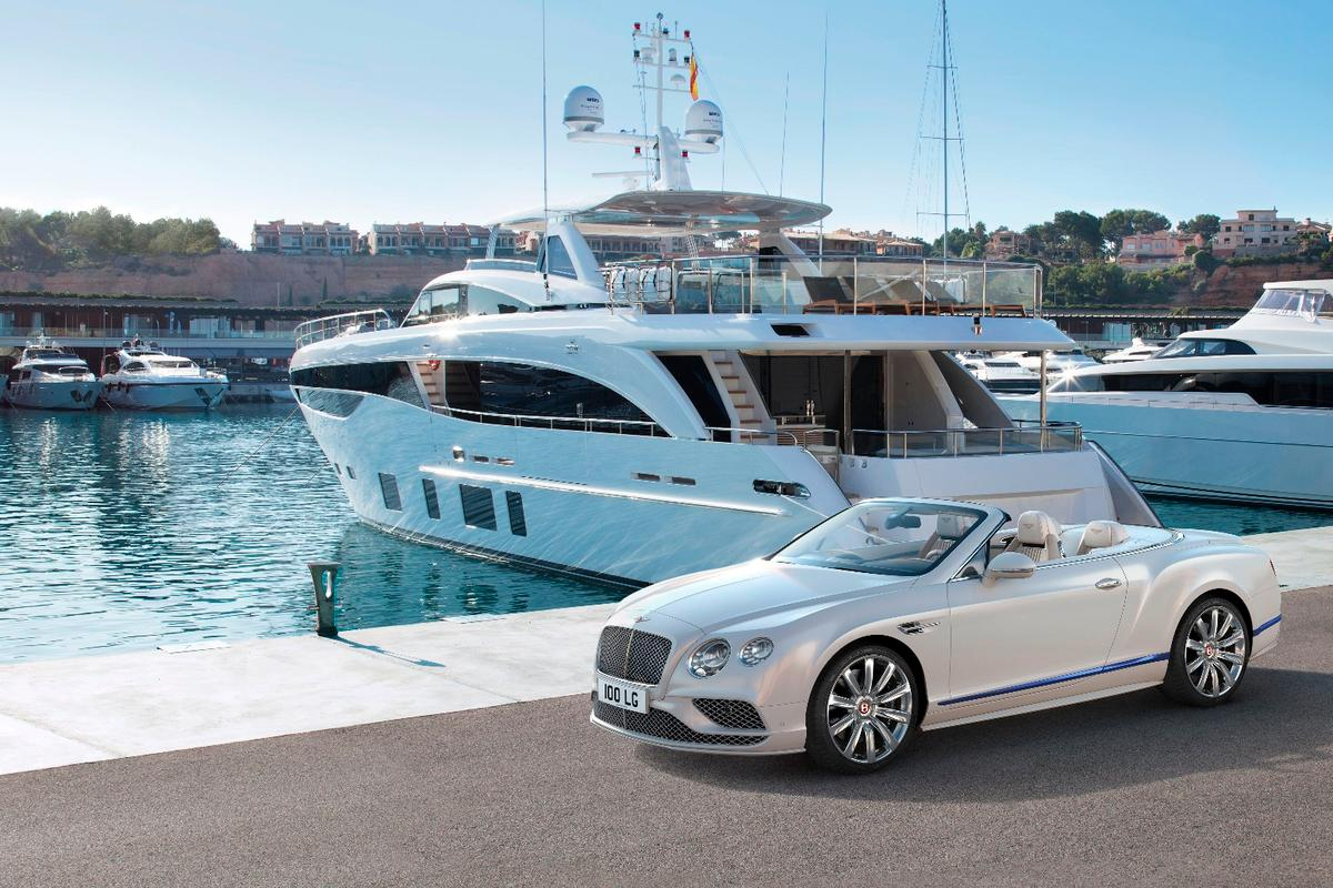Mulliner teamswith Princess Yachts to create the Galene Edition