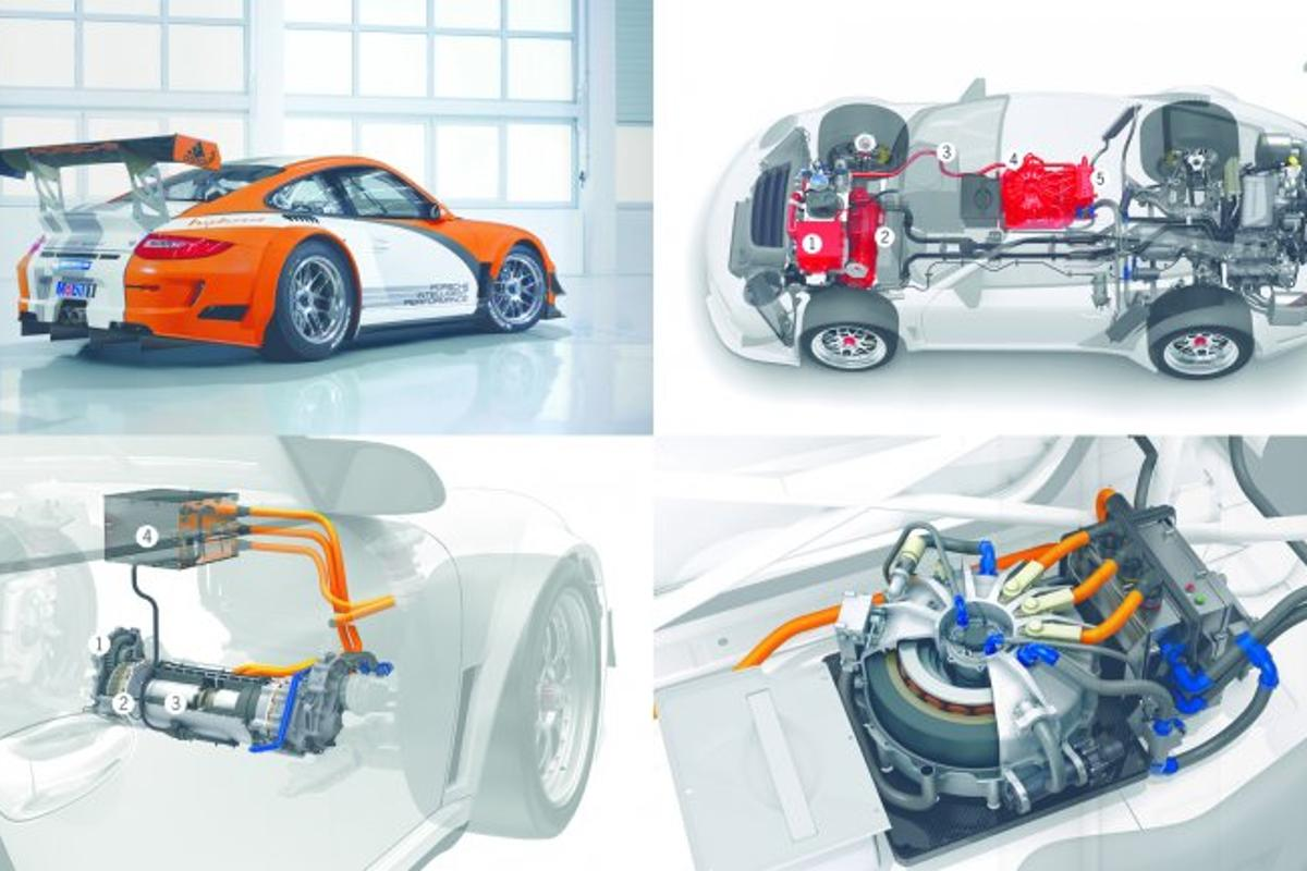 The 911 GT3 R Hybrid