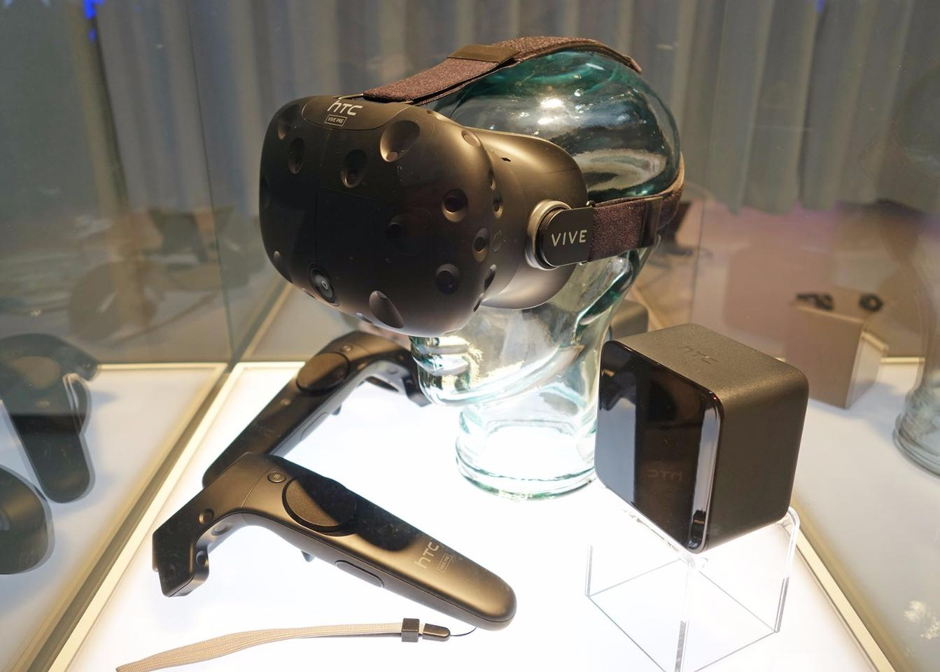 The HTC VIve already ships with its own controllers