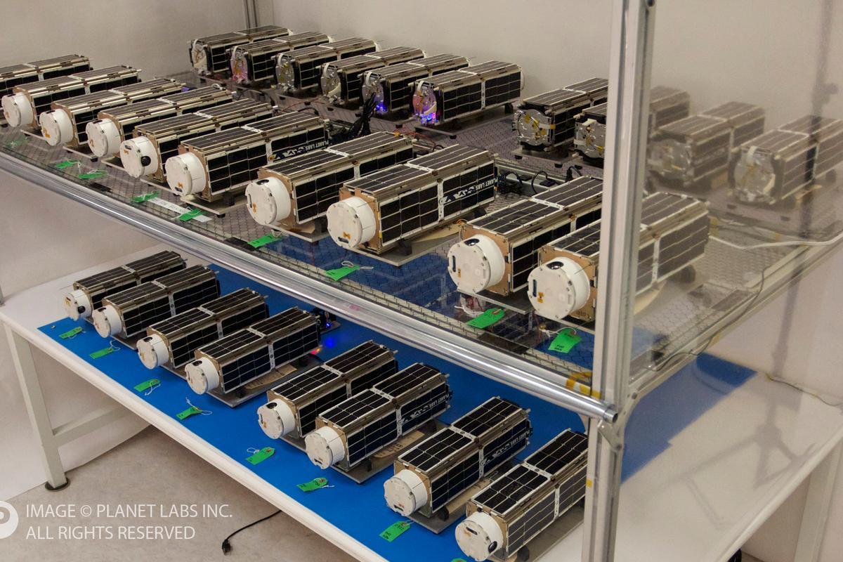 Flock 1 will be the largest fleet of Earth imaging satellites in orbit
