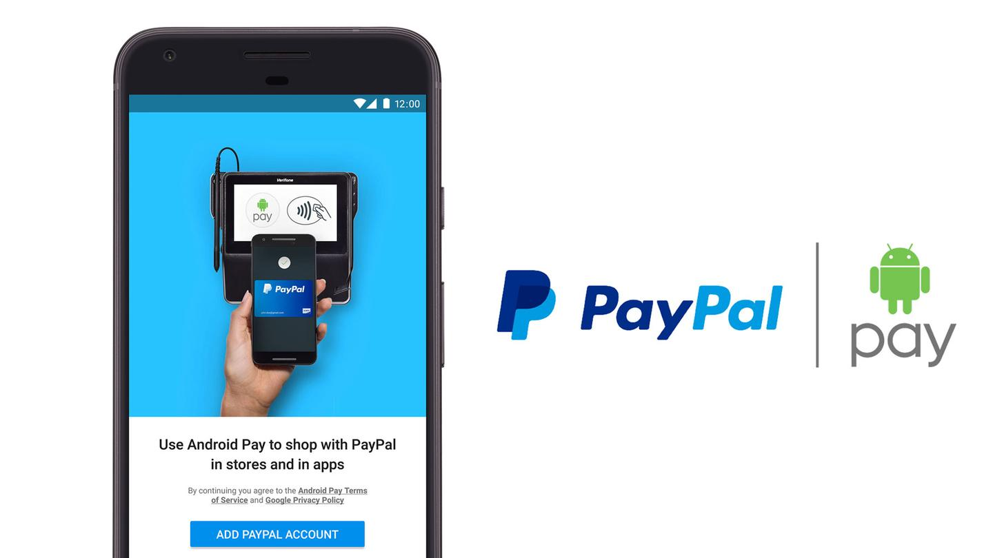 Soon, Android Pay users will be able to use their PayPal accounts for in-store transactions