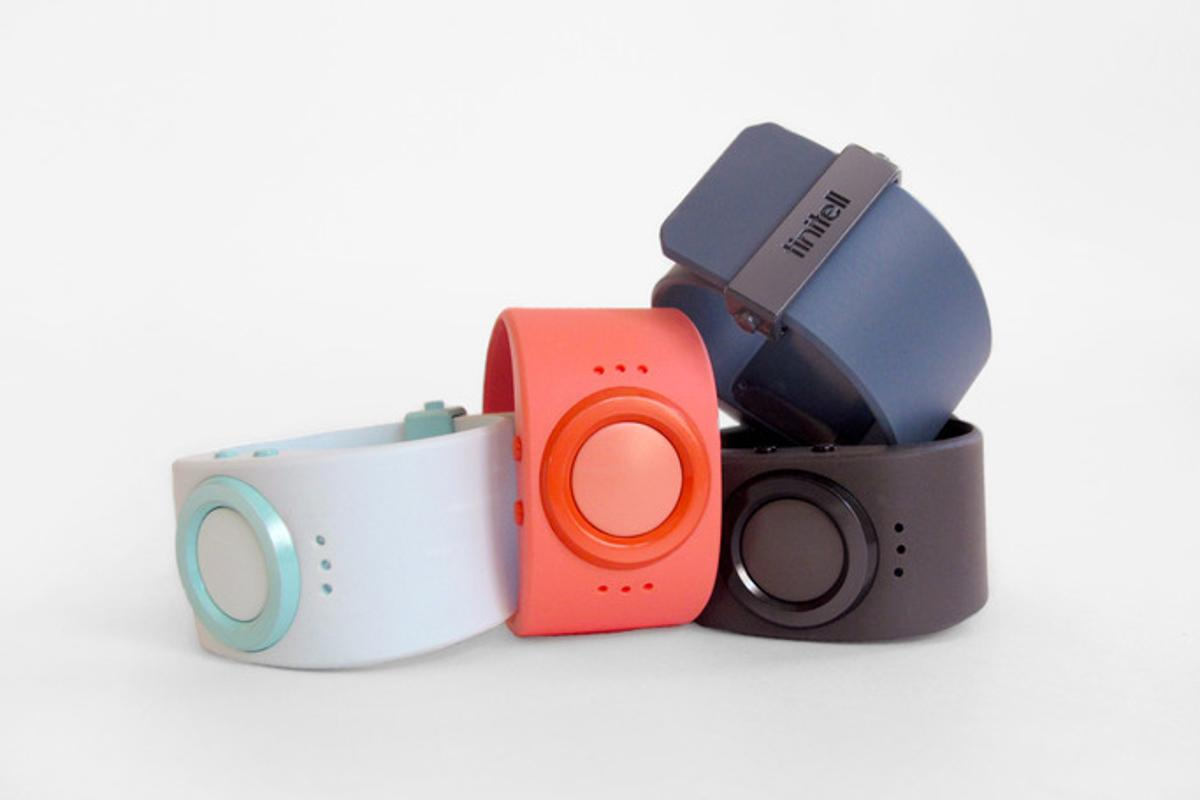 Tinitell is a simple wrist-worn mobile phone designed to give children independence and give parents peace of mind
