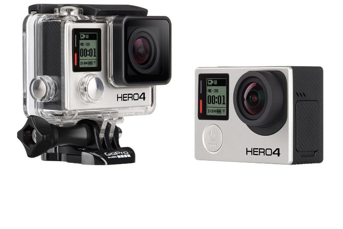 The GoPro Hero 4 Black Edition will offer 4K recording at 30 FPS