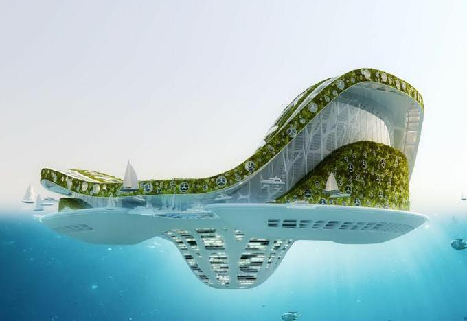 The Lilypad floating city concept