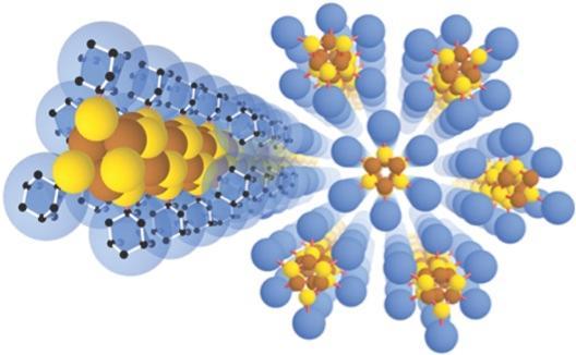 A graphical representation of the new nanowire diamondoid structure