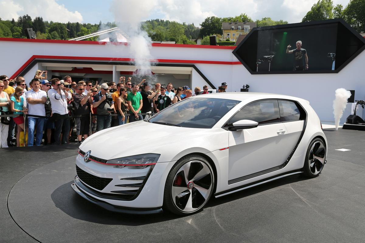 The Design Vision project allowed VW design team an opportunity to stretch its creative talents and vision for future GTI generations